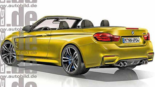 2015 BMW M4 Convertible at the 2014 New York Auto Show