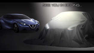 Nissan Teases New Sedan Concept With First Image