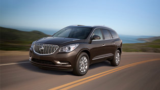 buick exports redesigned 2014 enclave to china