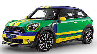MINI Paceman GoalCooper - 2014 FIFA World Cup