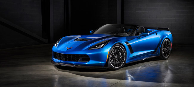 Chevrolet Introduces 2015 Corvette Z06 Convertible