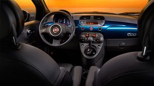 fiat shows the interior of upcoming 2015 fiat 500