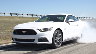 2015 ford mustang gt - electronic burnout control system [video]