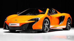 2015 McLaren 650S Coupe and Spider - US Price