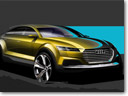 Audi Teases TT-Based Crossover Concept Ahead Of Beijing Debut
