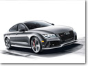 Audi exclusive RS7 dynamic edition Debuts In New York