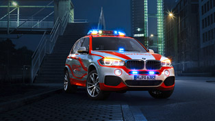 BMW Shows Six Public Service Vehicles At RETTmobil