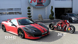 dmc ferrari 458 italia estremo & the twin bike