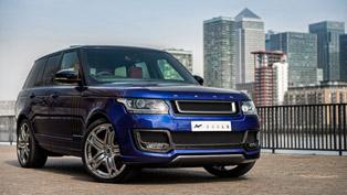 Range Rover 600-LE Bali Blue Luxury Edition By Kahn Design