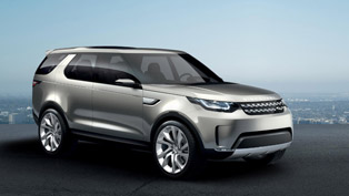 Land Rover Discovery Vision Concept Revealed!