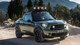 MINI Makes One-off Paceman Adventure