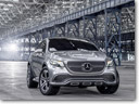 Mercedes-Benz Concept Coupe SUV In Details