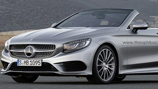 Mercedes-Benz S-Class Cabriolet [render images]