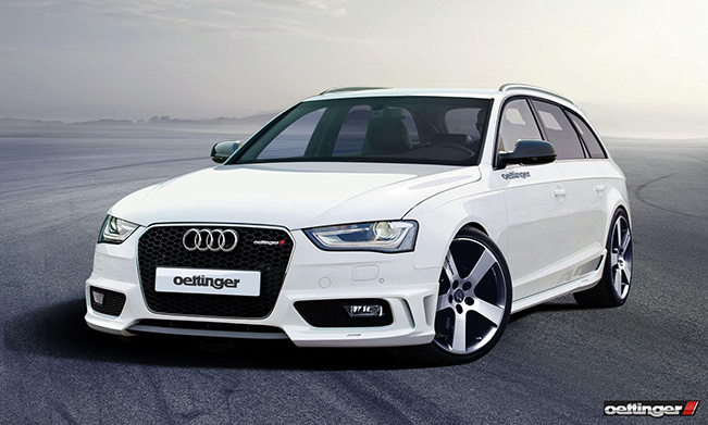 Oettinger Audi A4 Sport - Avant and Sedan