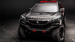 Peugeot 2008 DKR for 2015 Dakar Rally [video]