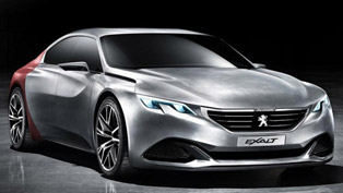 Peugeot Exalt Concept at the 2014 Beijing Motor Show