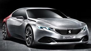 Peugeot Exalt Concept at the 2014 Beijing Motor Show