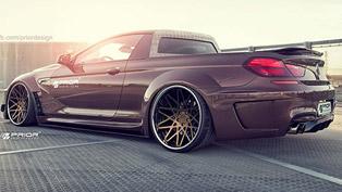 Prior Design BMW M6 F13 Pickup [render]