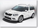 Skoda Introduces Furry Yeti Ice Special Edition
