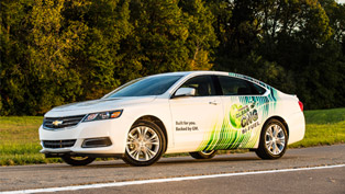 2015 Chevrolet Impala Bi-Fuel CNG Goes On Sale