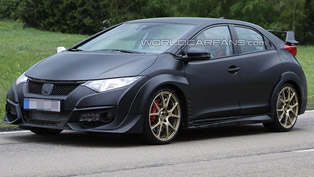 2015 Honda Civic Type-R [spy photos]