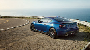 Subaru Introduces 2015 BRZ Series Blue Special Edition