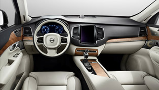 Volvo Shows 2015 XC90's Interior