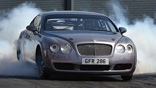 bentley continental gt drag - 3,000hp