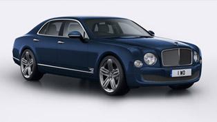 Bentley Mulsanne 95 Celebrates Company's Anniversary