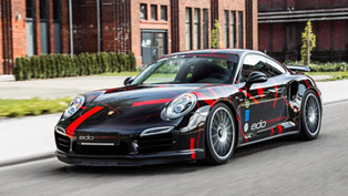 Edo Competition Enhances Porsche 991 Turbo S