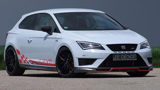 JE Design Seat Leon Cupra - 350HP and 440Nm
