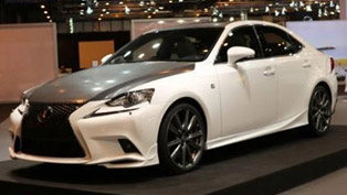 Lexus IS 25 Aniversario Special Edition at Madrid Auto Show