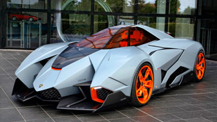 Lamborghini Permanently Displays Egoista At Brand's Museum