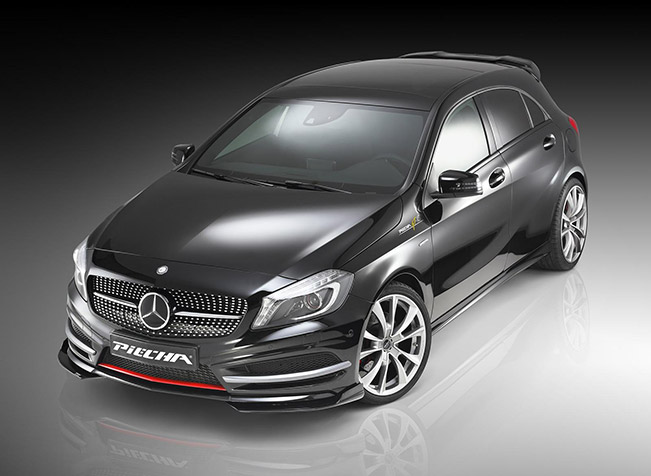 Piecha design mercedes benz a class amg line for Mercedes benz amg hatchback price