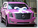 Really Spectacular Present: A Pink Cadillac Escalade