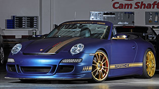 Porsche 997 Carrera S Cabriolet by Cam Shaft & PP-Performance