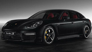 Porsche Panamera Turbo S Exclusive - Jet Black Metallic