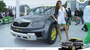 Skoda Yeti Xtreme Concept at Worthersee