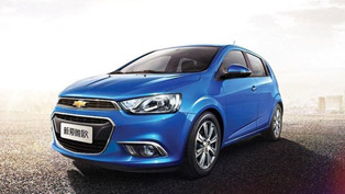 Facelifted 2015 Chevrolet Aveo Debuts In China