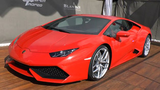 Lamborghini Huracan LP610-4 in the UK [video]