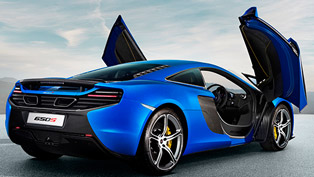 McLaren 650S at Monza Race Track [video]