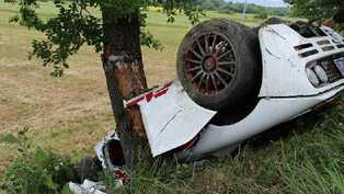 McLaren F1 - Crash in Italy