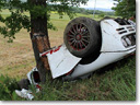 McLaren F1 – Crash in Italy