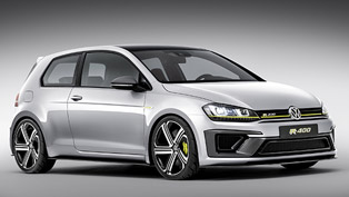 Volkswagen Golf R 400 - Even More Horsepower!