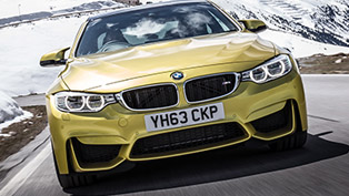 2014 BMW M3 Saloon and M4 Coupe - UK Price