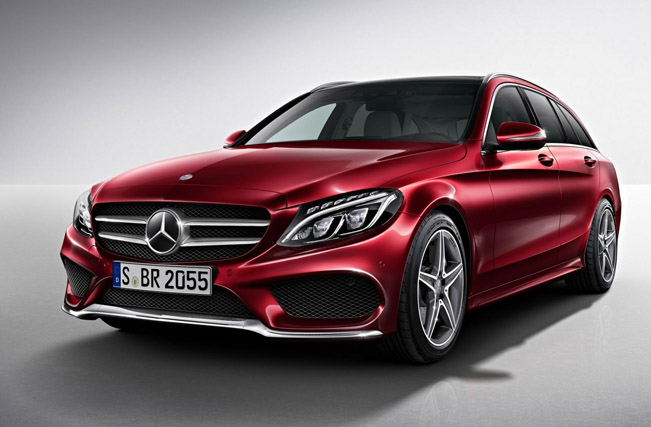 Mercedes benz c class estate amg line for 2014 mercedes benz c class