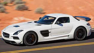 David Coulthard with Mercedes-Benz SLS AMG Black Series at Goodwood [video]