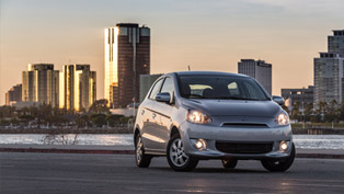 Mitsubishi Enhances 2015 Mirage