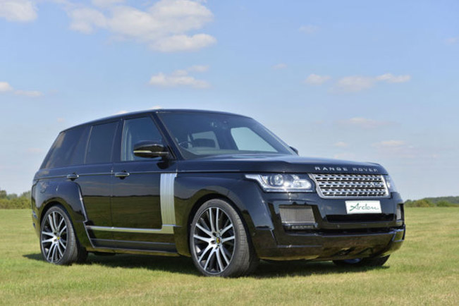 arden range rover ar 9 spirit v8 supercharged. Black Bedroom Furniture Sets. Home Design Ideas