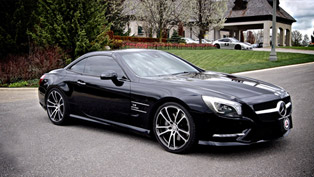 Brabus Mercedes-Benz SL550 Enhanced By Inspired Autosport